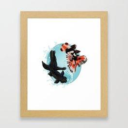 Goldfish Bowl (2 of 3) Framed Art Print