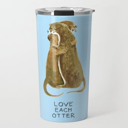 Love each otter Travel Mug
