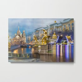 Saint Petersburg Metal Print