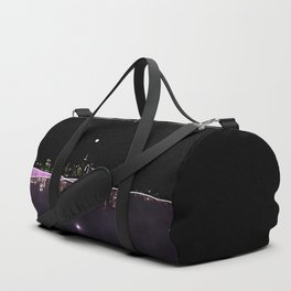 Moonlight In The City Skyline Design Duffle Bag