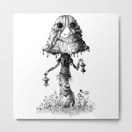 The Inky Caps Character Metal Print