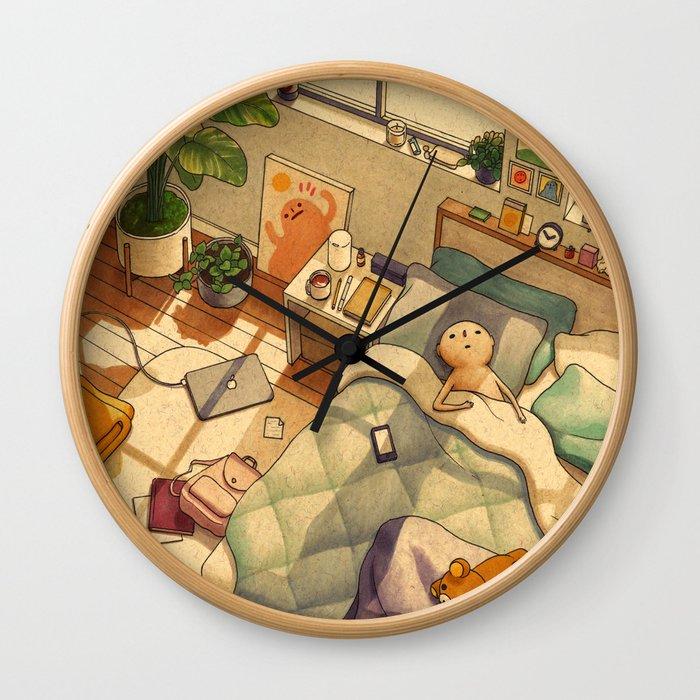 Afternoon Nap Wall Clock