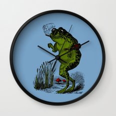 Good Time Toad Wall Clock