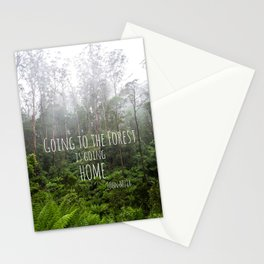 Going to the Forest Stationery Cards