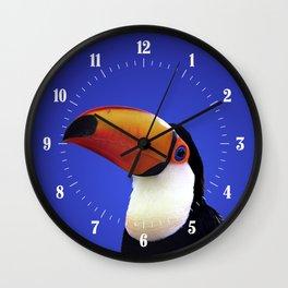 Toco Toucan Wall Clock
