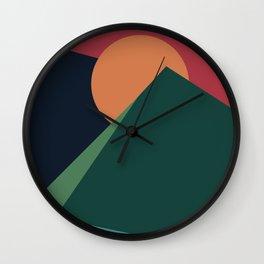 Forever Mountainous Wall Clock
