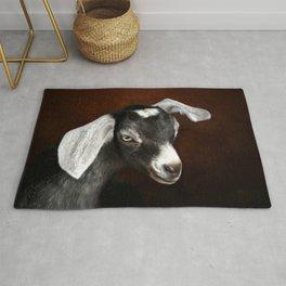 The Little Goat Rug