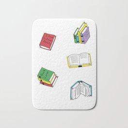 book pattern Bath Mat
