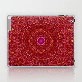 Red Jungle Mandala Laptop & iPad Skin