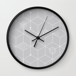 two fishes Wall Clock