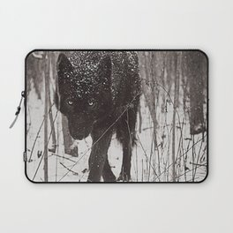 Snow Wolf Laptop Sleeve