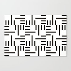 Kemper Black & White Canvas Print