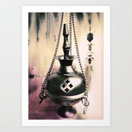 Chain Smoker Art Print