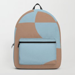 Sand Storm Beige Pastel Blue Circle Design 2 Behr 2021 Color of the Year Canyon Dusk Early September Backpack