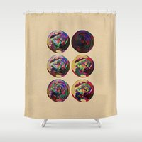 scorpio Shower Curtains featuring - scorpio - by Digital Fresto