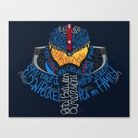 pacific rim Canvas Prints featuring Pacific Rim by Charleighkat