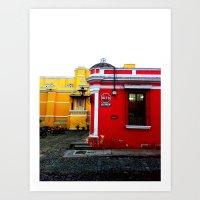palo alto Art Prints featuring Alto by veronicayvette