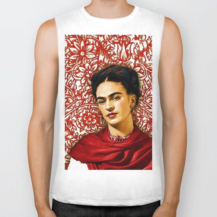 Frida Kahlo 2 Biker Tank