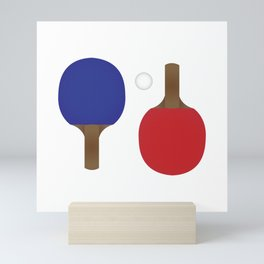Ping Pong Rackets Mini Art Print