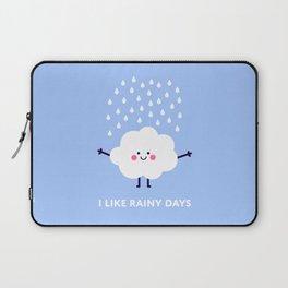 Cute rain cloud Laptop Sleeve