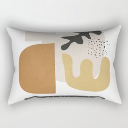 Abstract Shapes  2 Rectangular Pillow