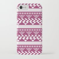 bands iPhone & iPod Cases featuring Tribal Bands by stephaniemichalko