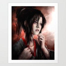 Mo Dao Zu Shi Mo Xuanyu Art Print