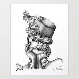 JARVIS Frog Prince Print Art Print