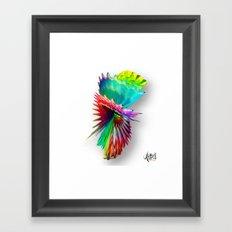 Move circle Framed Art Print