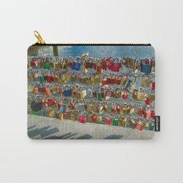 Love Locks, Pont des Arts Bridge, No.2, Paris, France Carry-All Pouch