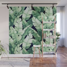 Banana leaves III Wall Mural