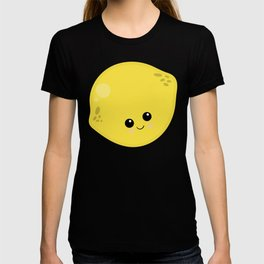 Kawaii Fruit Kawaii Lemon Cute Cartoon Fruit T-shirt