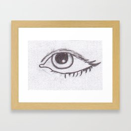 EYEseeyou Framed Art Print
