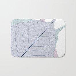 Leaf Design Bath Mat