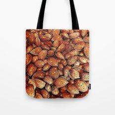 almond and star sky Tote Bag
