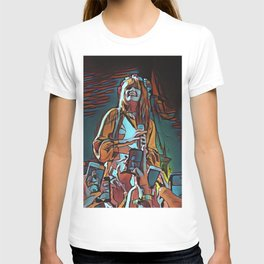 Abstract Concert painting T-shirt
