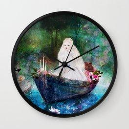 lady of shalott Wall Clock