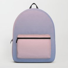 Ombre | Rose Quartz and Serenity | Pantone Colors of the Year 2016 Backpack