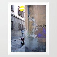 Firenze Graffiti Art Print