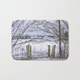 A snowy view to Wardle Bath Mat