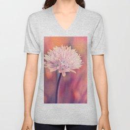 Chive blossom Unisex V-Neck
