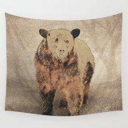 Formosan Black Bear Wall Tapestry