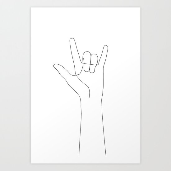 Love Hand Gesture by explicitdesign