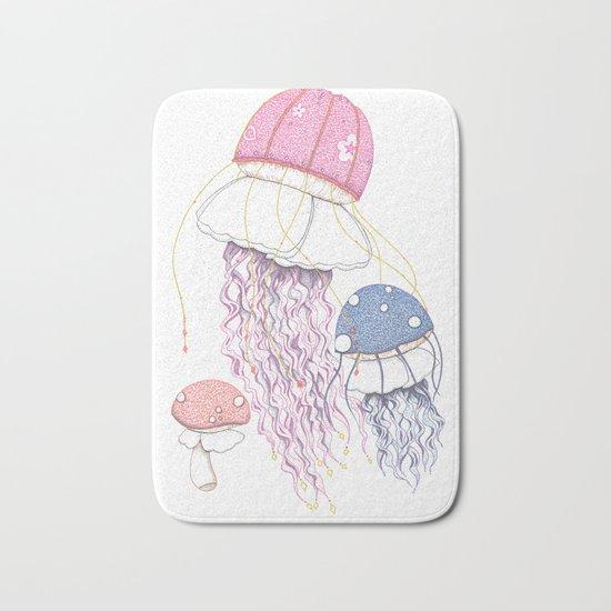 Jelly Shrooms Bath Mat