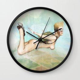 Not So Flat, Flying Wall Clock