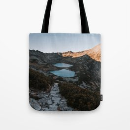 Mountain Ponds - Landscape and Nature Photography Tote Bag