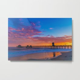 Colors of Sunset Metal Print