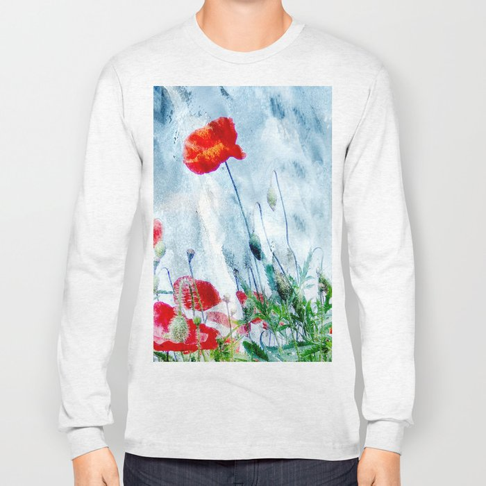 Poppy Love III Long Sleeve T-shirt