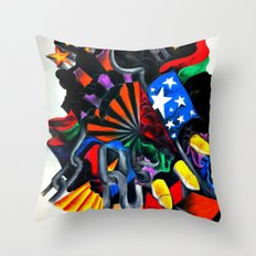 Old World Order Throw Pillow