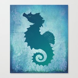 Seahorse of a Different Color ~ Marine Life ~ (Copyright 2015) Canvas Print